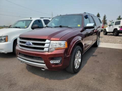 2017 Ford Expedition EL for sale at Snyder Motors Inc in Bozeman MT