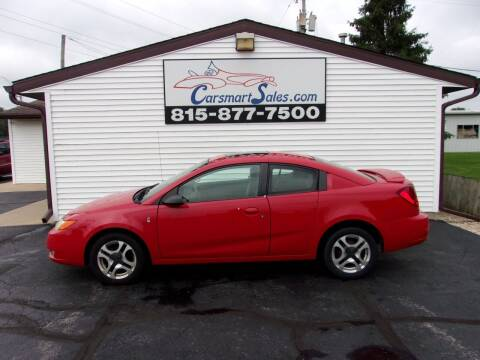 2003 Saturn Ion for sale at CARSMART SALES INC in Loves Park IL