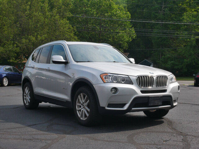 2013 BMW X3 for sale at Canton Auto Exchange in Canton CT