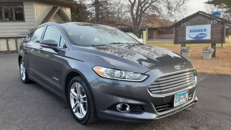 2015 Ford Fusion Hybrid for sale at Shores Auto in Lakeland Shores MN