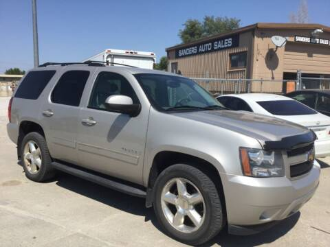 2009 Chevrolet Tahoe for sale at Sanders Auto Sales in Lincoln NE
