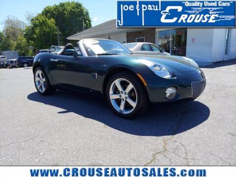 2008 Pontiac Solstice for sale at Joe and Paul Crouse Inc. in Columbia PA