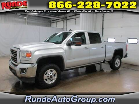 2016 GMC Sierra 2500HD for sale at Runde Chevrolet in East Dubuque IL