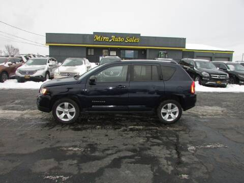 2012 Jeep Compass for sale at MIRA AUTO SALES in Cincinnati OH