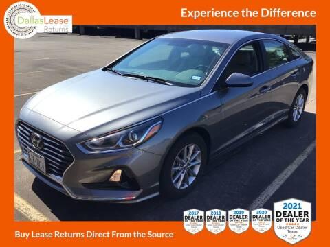 2018 Hyundai Sonata for sale at Dallas Auto Finance in Dallas TX