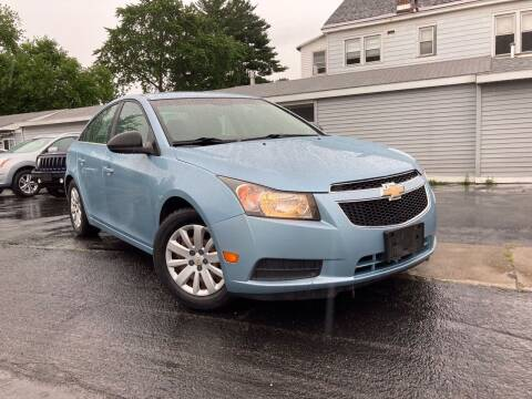 2011 Chevrolet Cruze for sale at Pak Auto Corp in Schenectady NY