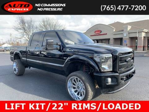 2012 Ford F-250 Super Duty for sale at Auto Express in Lafayette IN