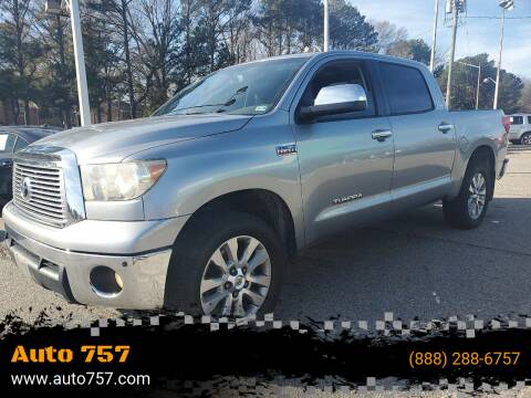 2011 Toyota Tundra for sale at Auto 757 in Norfolk VA