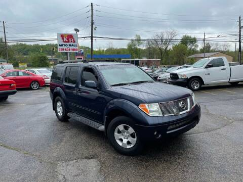 2006 Nissan Pathfinder for sale at KB Auto Mall LLC in Akron OH