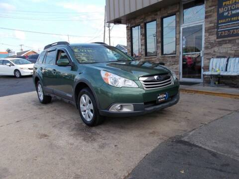 2012 Subaru Outback for sale at Preferred Motor Cars of New Jersey in Keyport NJ