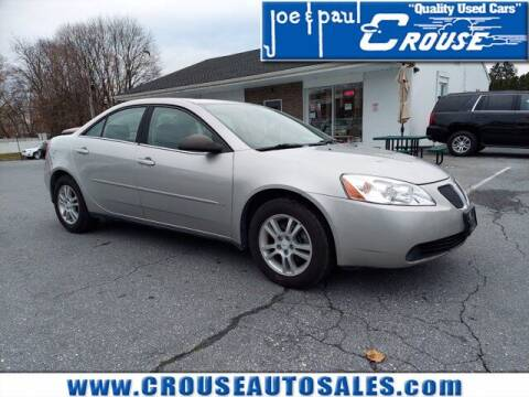2006 Pontiac G6 for sale at Joe and Paul Crouse Inc. in Columbia PA