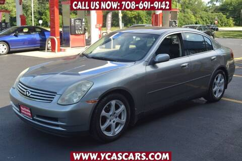 2004 Infiniti G35 for sale at Your Choice Autos - Crestwood in Crestwood IL