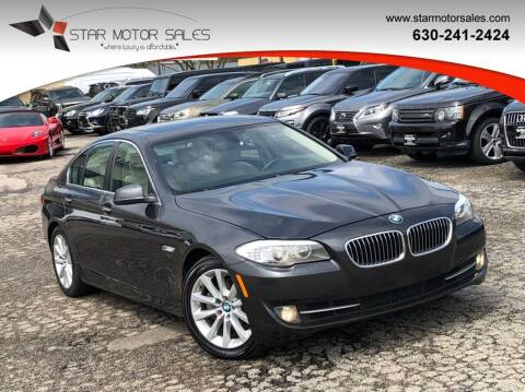 2013 BMW 5 Series for sale at Star Motor Sales in Downers Grove IL