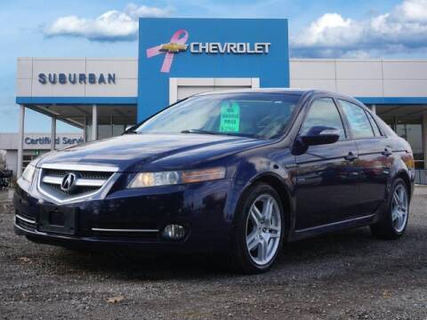 2007 Acura TL for sale at Suburban Chevrolet of Ann Arbor in Ann Arbor MI