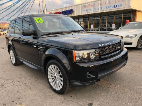 2013 Land Rover Range Rover Sport for sale at I-80 Auto Sales in Hazel Crest IL