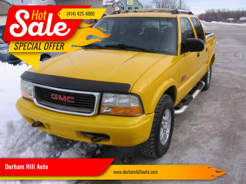 2004 GMC Sonoma for sale at Durham Hill Auto in Muskego WI