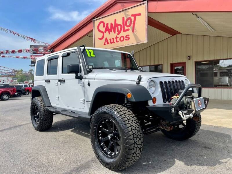 2012 Jeep Wrangler Unlimited for sale at Sandlot Autos in Tyler TX