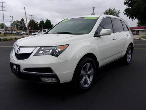 2012 Acura MDX for sale at Ideal Auto Sales, Inc. in Waukesha WI
