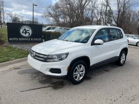 2013 Volkswagen Tiguan for sale at Station 45 Auto Sales Inc in Allendale MI