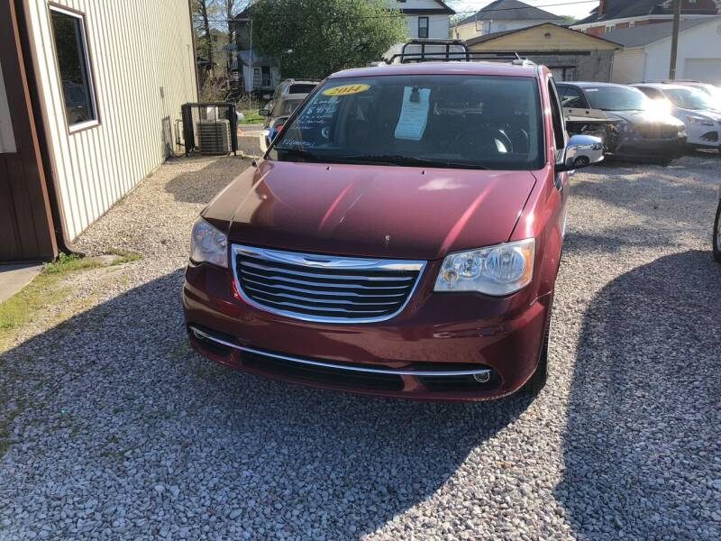 2014 Chrysler Town and Country for sale at ADKINS PRE OWNED CARS LLC in Kenova WV