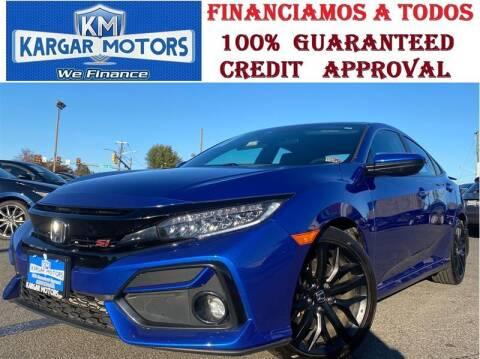 2020 Honda Civic for sale at Kargar Motors of Manassas in Manassas VA
