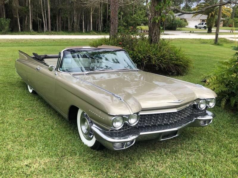 1960 Cadillac Eldorado Biarritz for sale at Suncoast Sports Cars and Exotics in West Palm Beach FL