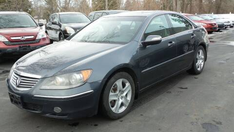 2005 Acura RL for sale at JBR Auto Sales in Albany NY