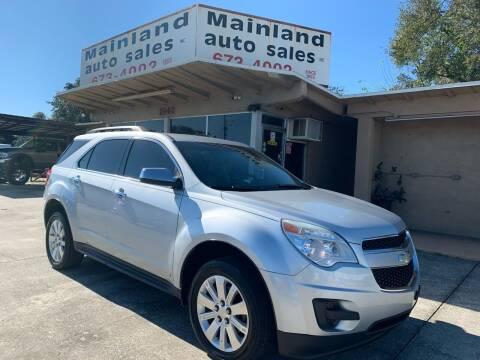 2010 Chevrolet Equinox for sale at Mainland Auto Sales Inc in Daytona Beach FL