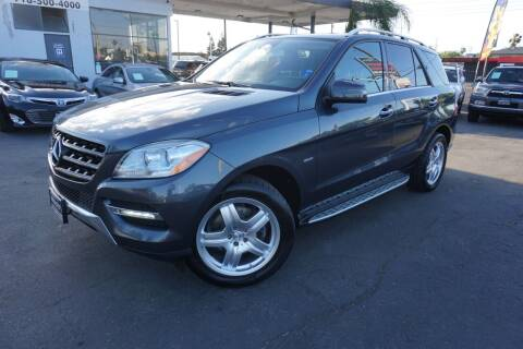2012 Mercedes-Benz M-Class for sale at Industry Motors in Sacramento CA