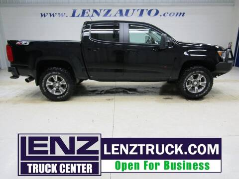 2016 Chevrolet Colorado for sale at LENZ TRUCK CENTER in Fond Du Lac WI