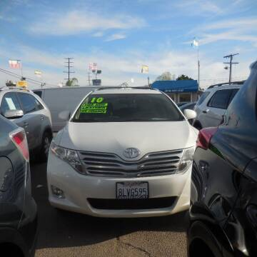 2010 Toyota Venza for sale at Luxor Motors Inc in Pacoima CA