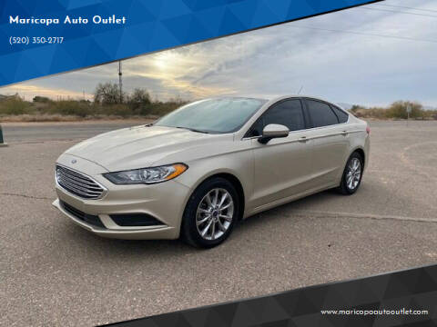 2017 Ford Fusion for sale at Maricopa Auto Outlet in Maricopa AZ