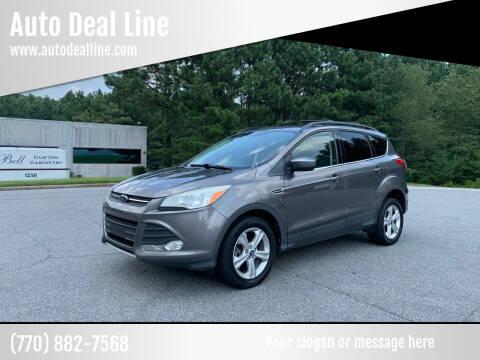 2013 Ford Escape for sale at Auto Deal Line in Alpharetta GA