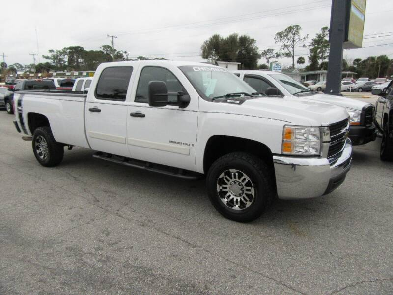 2007 Chevrolet Silverado 2500HD for sale at ARENA AUTO SALES,  INC. in Holly Hill FL