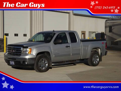2013 GMC Sierra 1500 for sale at The Car Guys in Atlantic IA