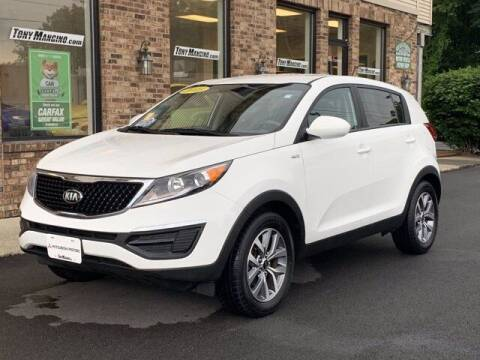 2015 Kia Sportage for sale at The King of Credit in Clifton Park NY