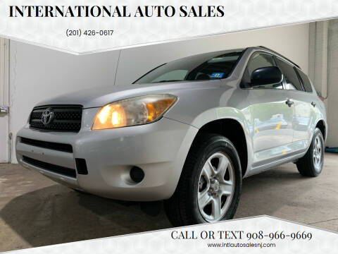 2007 Toyota RAV4 for sale at International Auto Sales in Hasbrouck Heights NJ