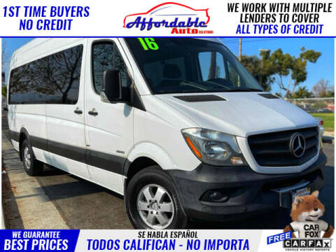 2016 Mercedes-Benz Sprinter Passenger for sale at Affordable Auto Solutions in Wilmington CA