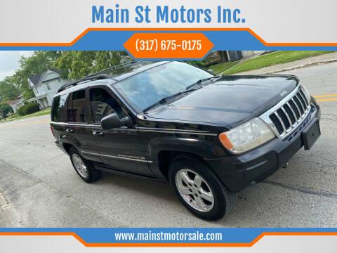 2004 Jeep Grand Cherokee for sale at Main St Motors Inc. in Sheridan IN