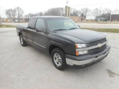 2003 Chevrolet Silverado 1500 for sale at RJ Motors in Plano IL