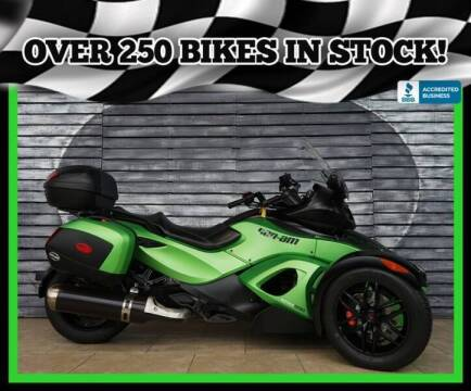 2012 Can-Am Spyder for sale at Motomaxcycles.com in Mesa AZ