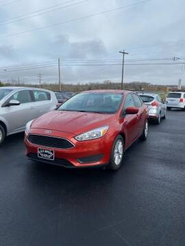 2018 Ford Focus for sale at RHK Motors LLC in West Union OH