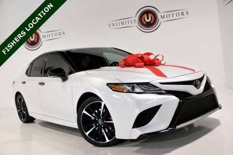 2019 Toyota Camry for sale at Unlimited Motors in Fishers IN