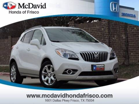 2016 Buick Encore for sale at DAVID McDAVID HONDA OF IRVING in Irving TX