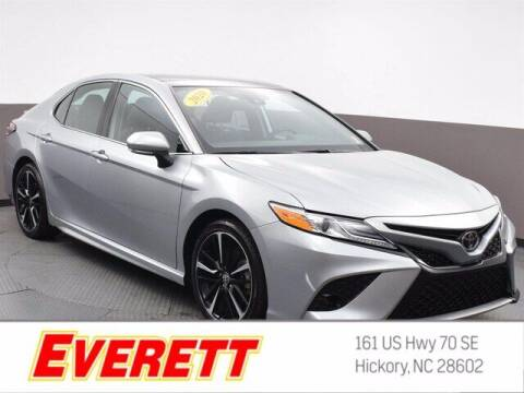 2020 Toyota Camry for sale at Everett Chevrolet Buick GMC in Hickory NC