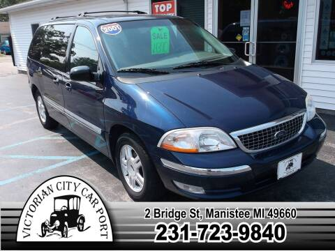 2001 Ford Windstar for sale at Victorian City Car Port INC in Manistee MI