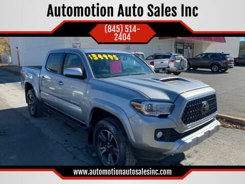 2019 Toyota Tacoma for sale at Automotion Auto Sales Inc in Kingston NY