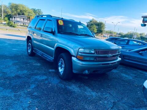 2003 Chevrolet Tahoe for sale at Petra Auto Sales in Jacksonville FL