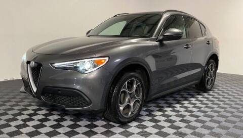 2018 Alfa Romeo Stelvio for sale at SIRIUS MOTORS INC in Monroe OH