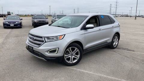 2015 Ford Edge for sale at FREDY USED CAR SALES in Houston TX